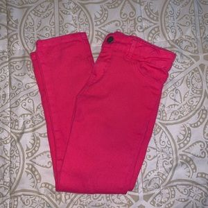 NWOT DKNY little girls pink jeans ❤️